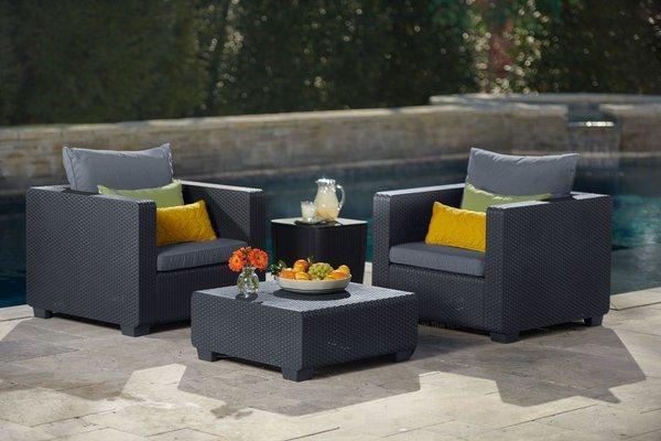 Fotel SALTA - grafitowy