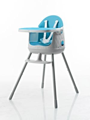 Krzesełko do karmienia 3w1 MULTIDINE Keter Curver - niebieskie