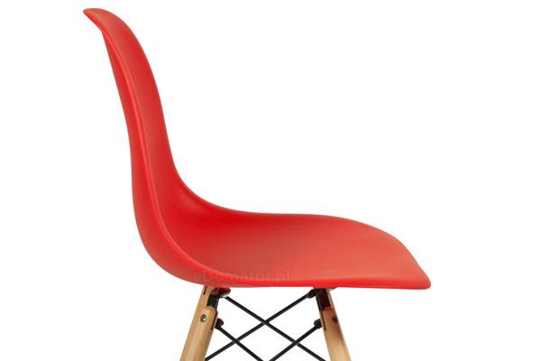 Krzesło do jadalni MEDIOLAN czerwone - 4 szt.