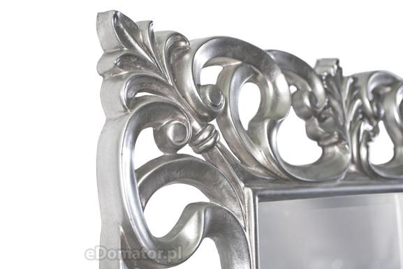 Lustro ozdobne APOLLO - srebrne