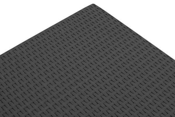 Meble ogrodowe CORFU MAX BOX 5-osobowe - grafit
