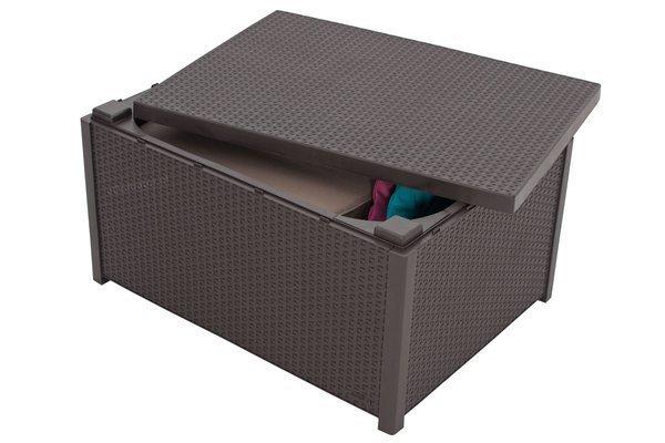 Meble ogrodowe KETER MODENA BOX 4-osobowy - brązowy