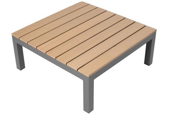 Narożnik ogrodowy aluminiowy BALI szaro-brązowy