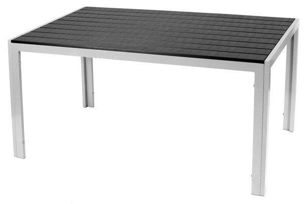 OUTLET - Stół ogrodowy MODENA - Czarny