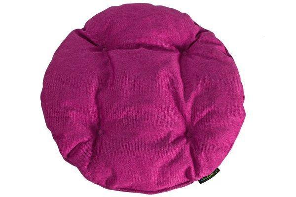 Poduszka okrągła na krzesło OFELIA 36 cm - fuksja