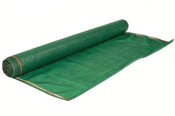 Siatka cieniująca 1,25x25m 90% 135g/m2  UV Zielona