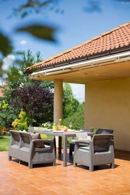 Stół ogrodowy MELODY  - cappuccino