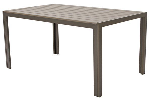Stół ogrodowy aluminiowy MODENA  - Brązowy