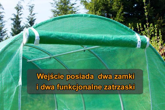 WYPRZEDAŻ! - Folia do tunelu  - 8 m2