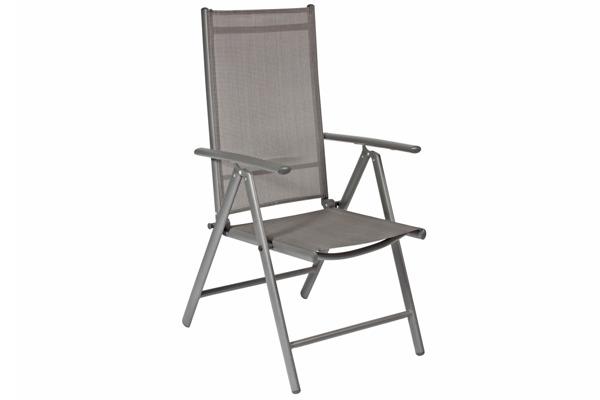 WYPRZEDAŻ - Krzesło ogrodowe MODENA 3 - grafitowe