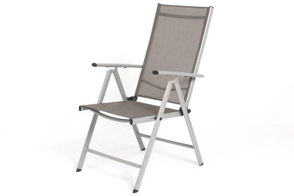 WYPRZEDAŻ - Krzesło ogrodowe MODENA  - srebrne