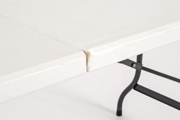WYPRZEDAŻ - STÓŁ CATERINGOWY Składany dł. 244 cm Biały