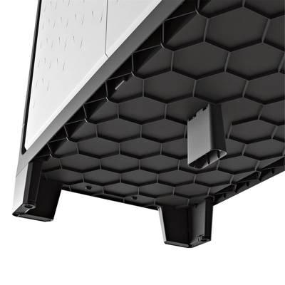 Wodoszczelna szafa wielofunkcyjna KETER KIS TITAN XL tall - czarno-szary