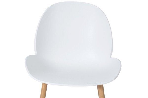 Wygodne krzesło do jadalni GALA - białe