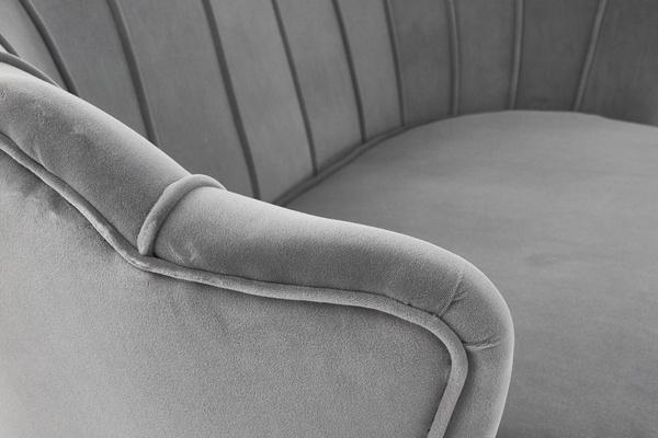 Wypoczynkowa sofa dwuosobowa MUSZLA AMORINITO XL - szary
