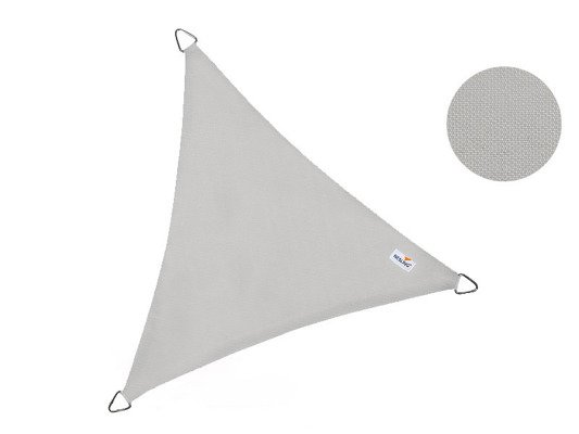 Żagiel wodoodporny DREAMSAIL trójkąt 4,0 x 4,0 x 4,0 m - Szary