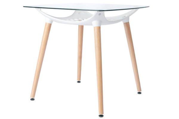 Zestaw mebli dla 4 osób - stół kwadratowy LUNA i 4 krzesła SIENA