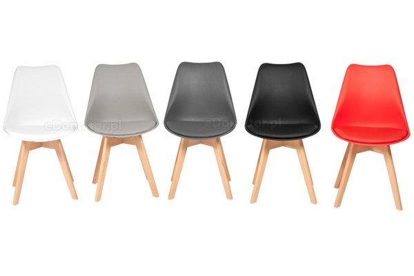 Zestaw mebli do jadalni stół okrągły LUNA i 4 krzesła BOLONIA